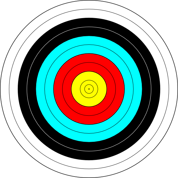 Shooting arrow target clipart clip freeuse download Archery Target Clip Art at Clker.com - vector clip art online ... clip freeuse download