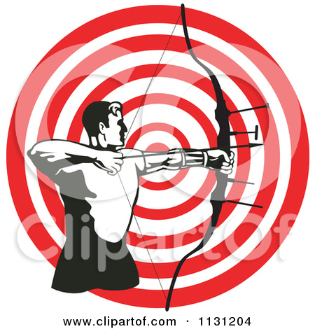 Shooting arrow target clipart vector royalty free Royalty-free (RF) Clipart Illustration of a Golden Arrow Straight ... vector royalty free