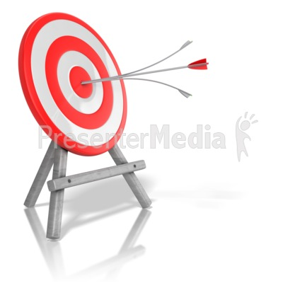 Shooting arrow target clipart image freeuse library Figure Shooting Arrow at Target image freeuse library