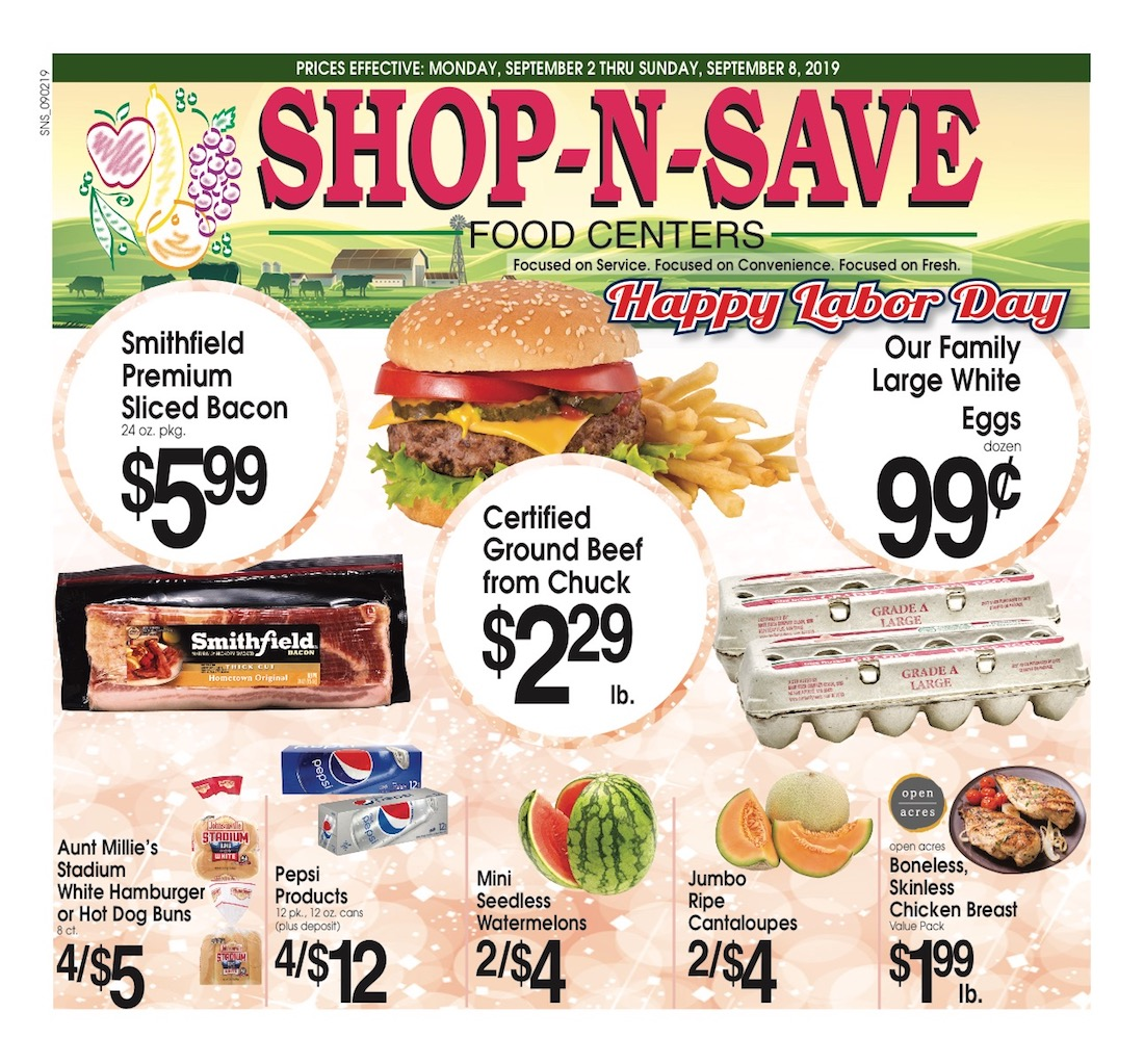 Shop n save clipart png freeuse stock Shop–N–Save Ludington Weekly Ad Circular png freeuse stock