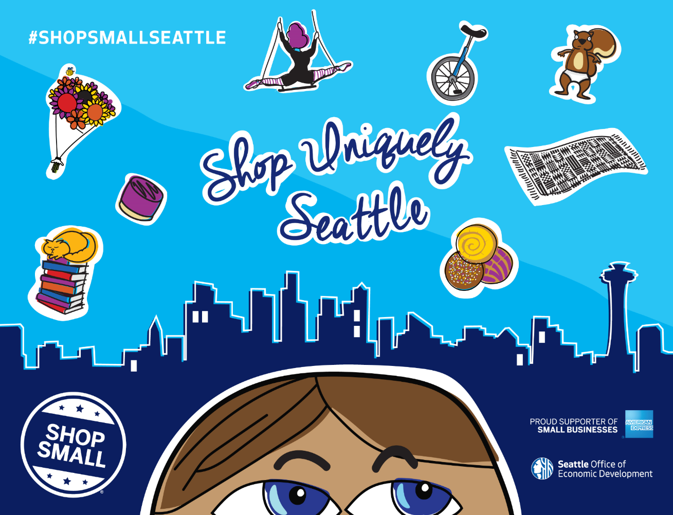 Shop small saturday clipart jpg free Keep it Local in Seattle on Small Business Saturday jpg free