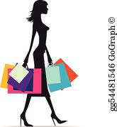 Shopaholic clipart banner free download Shopaholic Clip Art - Royalty Free - GoGraph banner free download