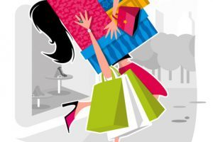 Shopaholic clipart black and white download Shopaholic clipart 5 » Clipart Portal black and white download