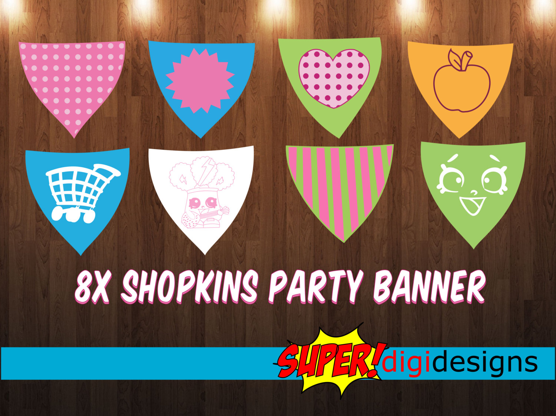 Shopkins banner clipart clip art transparent stock Shopkins banner clipart - ClipartFest clip art transparent stock