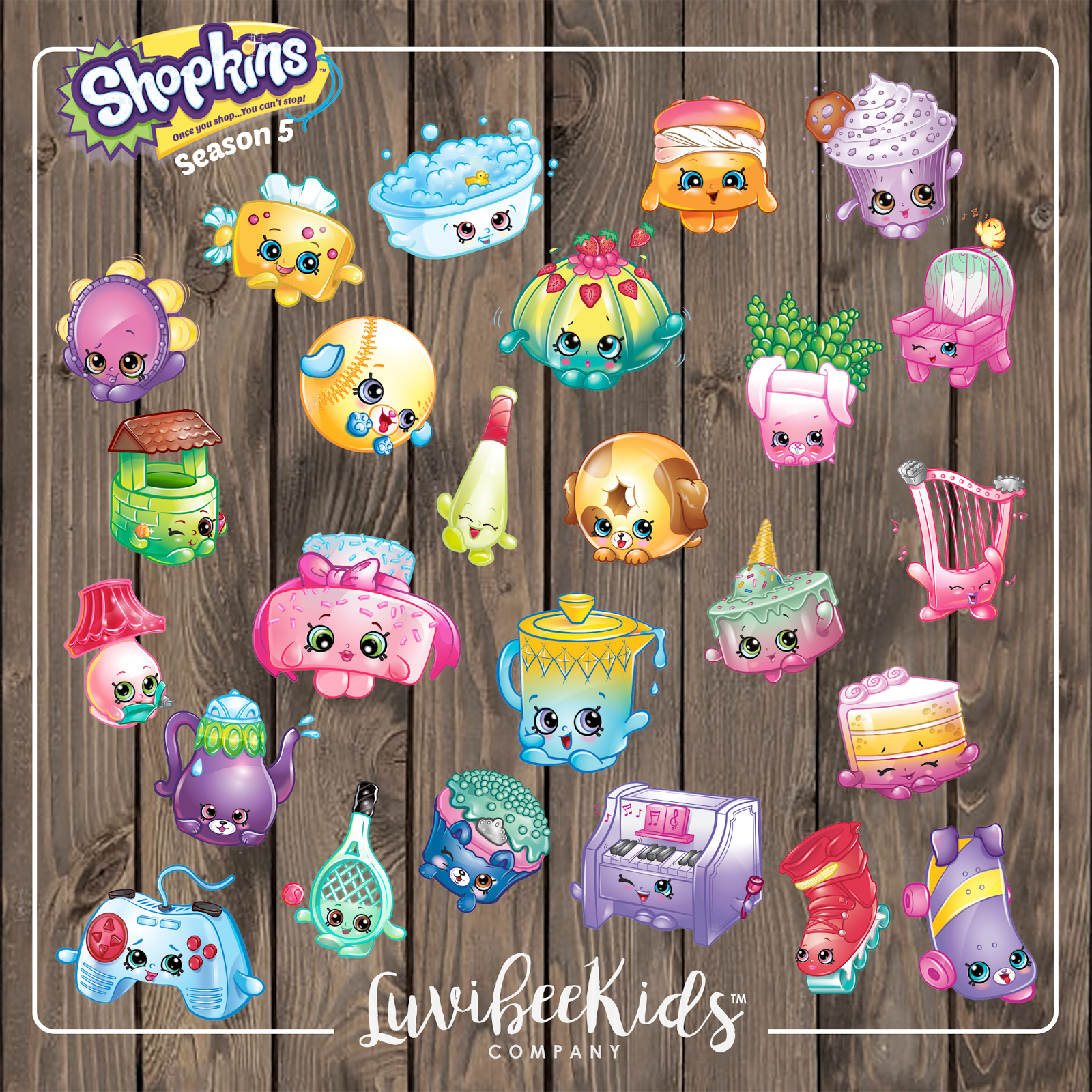 Shopkins banner clipart clipart free stock Shopkins clipart printable - ClipartFest clipart free stock