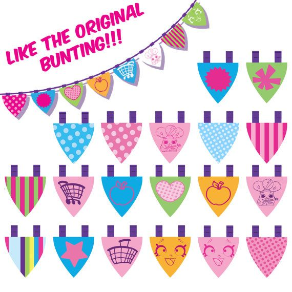 Shopkins banner clipart image royalty free stock 17 Best images about shopkins on Pinterest | Party printables ... image royalty free stock
