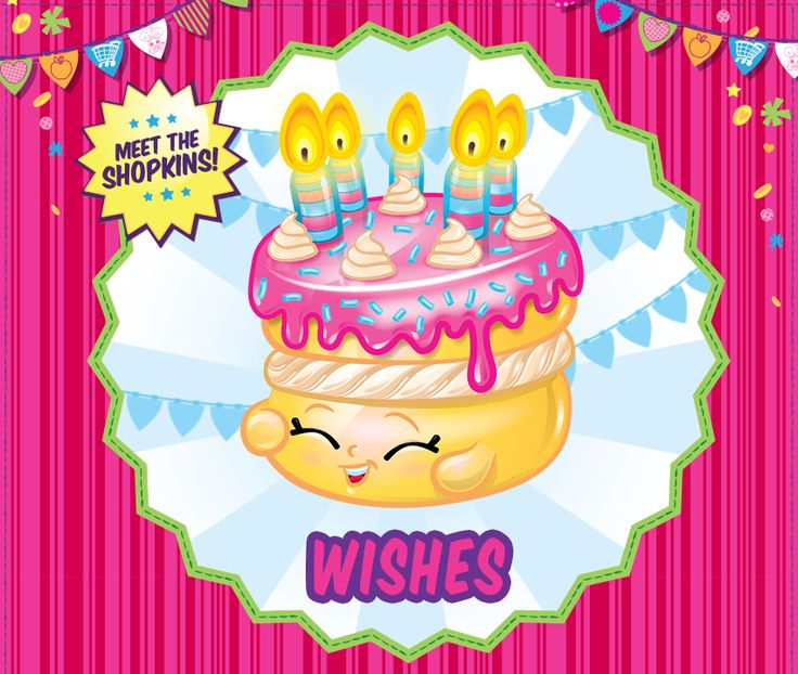 Shopkins birthday cake clipart clip royalty free Top 25 ideas about Shopkins Party Ideas on Pinterest | Birthdays ... clip royalty free