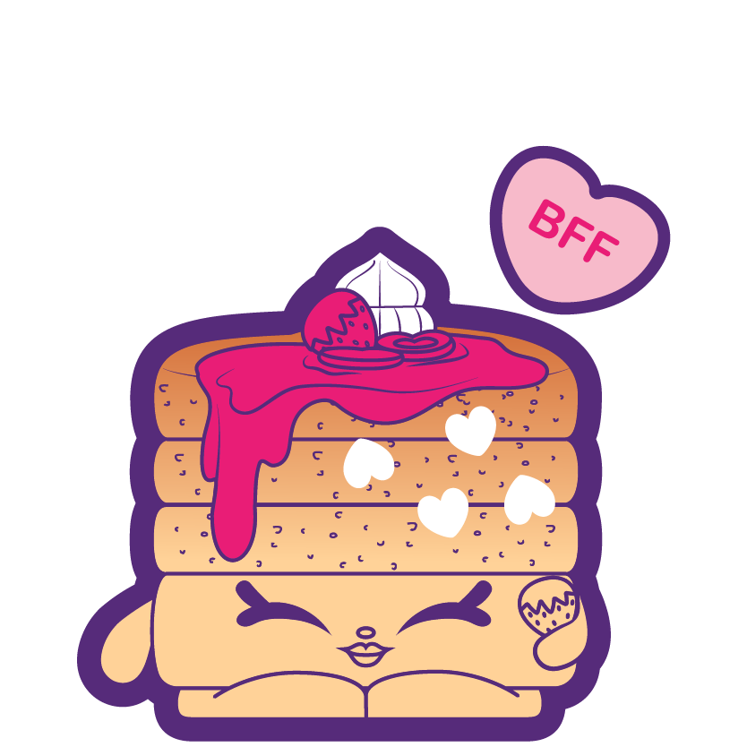Shopkins clip art vector free library Shopkins #9-012 - Primrose Pancakes - a Common Shopkin vector free library