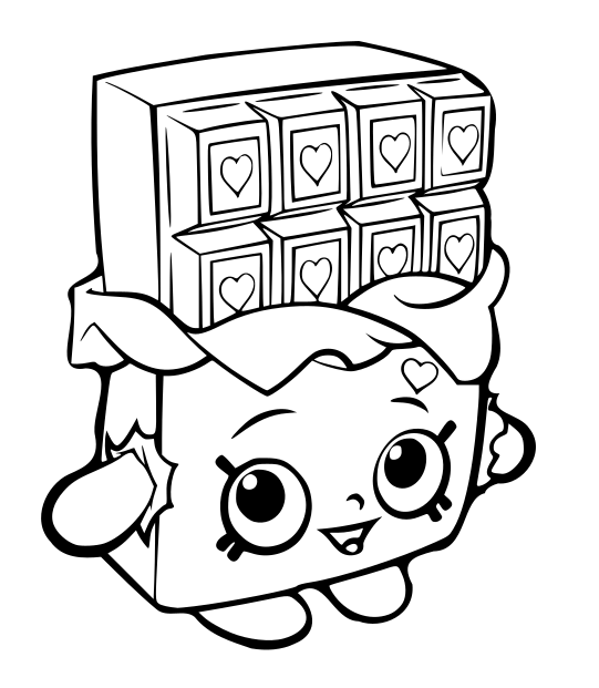 Shopkins clipart cheeky chocolate banner library library 15 Unique Shopkins Coloring Pages banner library library