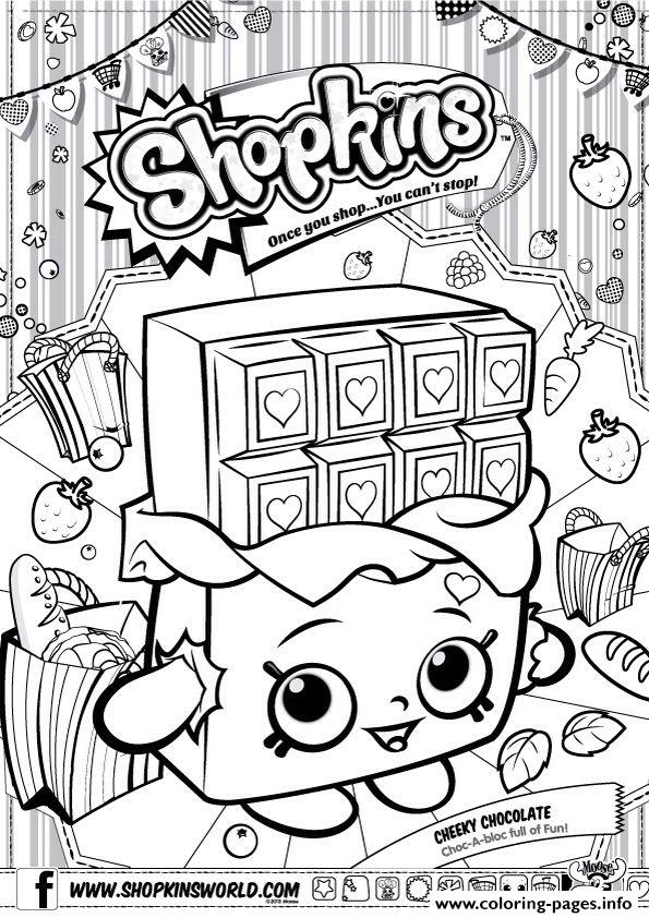 Shopkins clipart cheeky chocolate free library S Hopkins Toys Coloring Pages, shopkins cheeky chocolate coloring ... free library