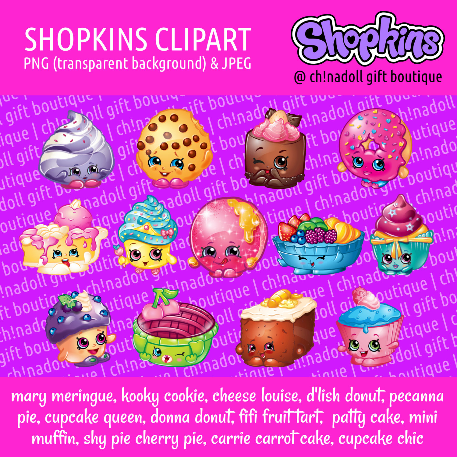 Shopkins clipart cupcake queen black and white download Shopkins clipart sweet bakery cupcake queen d'lish black and white download