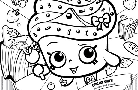 Shopkins clipart cupcake queen banner black and white stock Shopkins clipart cupcake queen - ClipartFest banner black and white stock