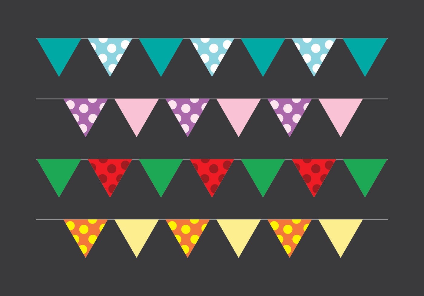 Shopkins clipart flag image transparent Bunting Free Vector Art - (9628 Free Downloads) image transparent