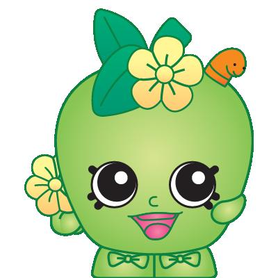 Shopkins clipart season 1 vector freeuse Shopkins #1-008 - Apple Blossom - a Common Shopkin vector freeuse