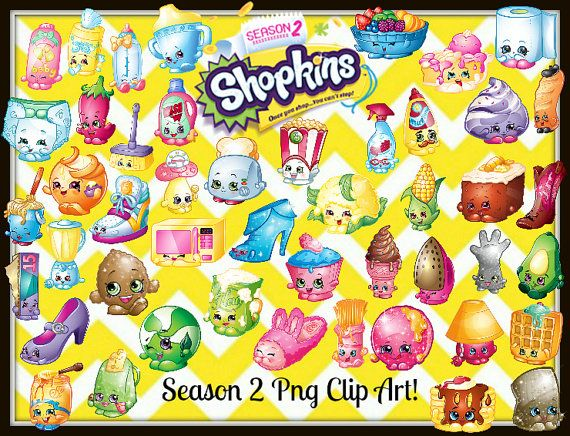 Shopkins clipart season 2 png black and white library 17 Best images about shopkins on Pinterest   Clip art, Cupcake ... png black and white library