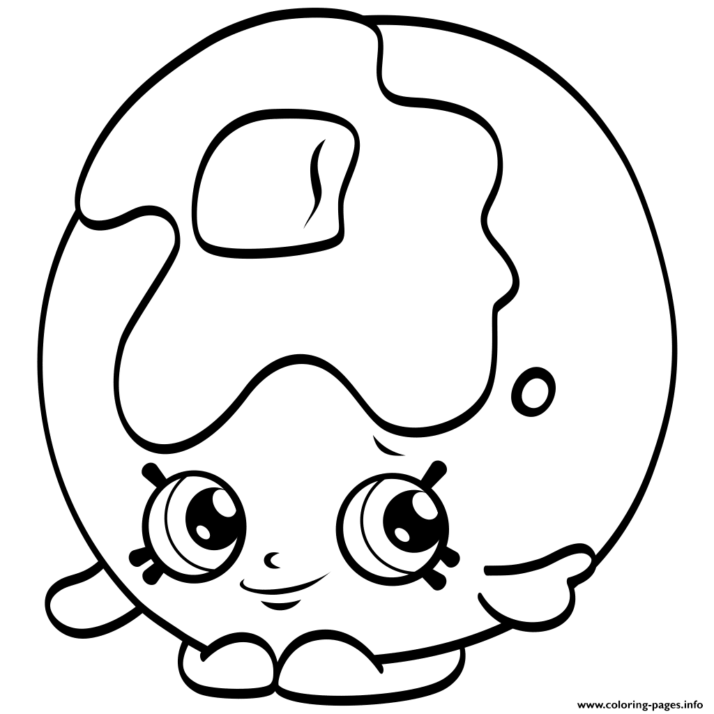 Shopkins clipart season 4 clipart royalty free library clipart black shopkins season 4 Coloring pages Free Printable clipart royalty free library