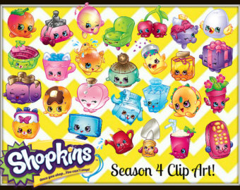 Shopkins clipart season 4 banner black and white download Shopkins clipart season 4 - ClipartFest banner black and white download