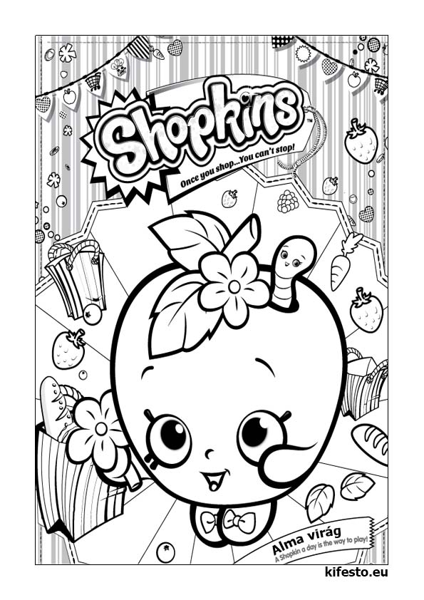 Shopkins clipart to print banner stock Shopkins clipart black and white - ClipartFest banner stock