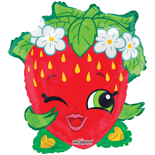 Shopkins crown clipart clipart stock Everyday 2018 : Shopkins Fresa JuniorShape | Personajes y licencias ... clipart stock