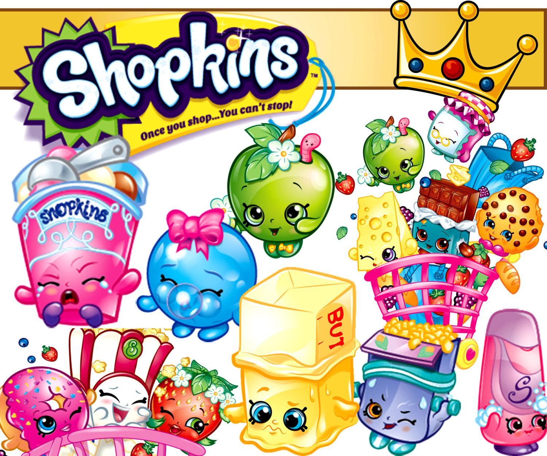 Shopkins free clipart