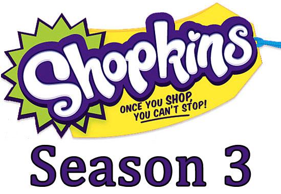 Shopkins logo clipart png freeuse download Shopkins Season 3 Pack of 5 Shopkins | eBay png freeuse download
