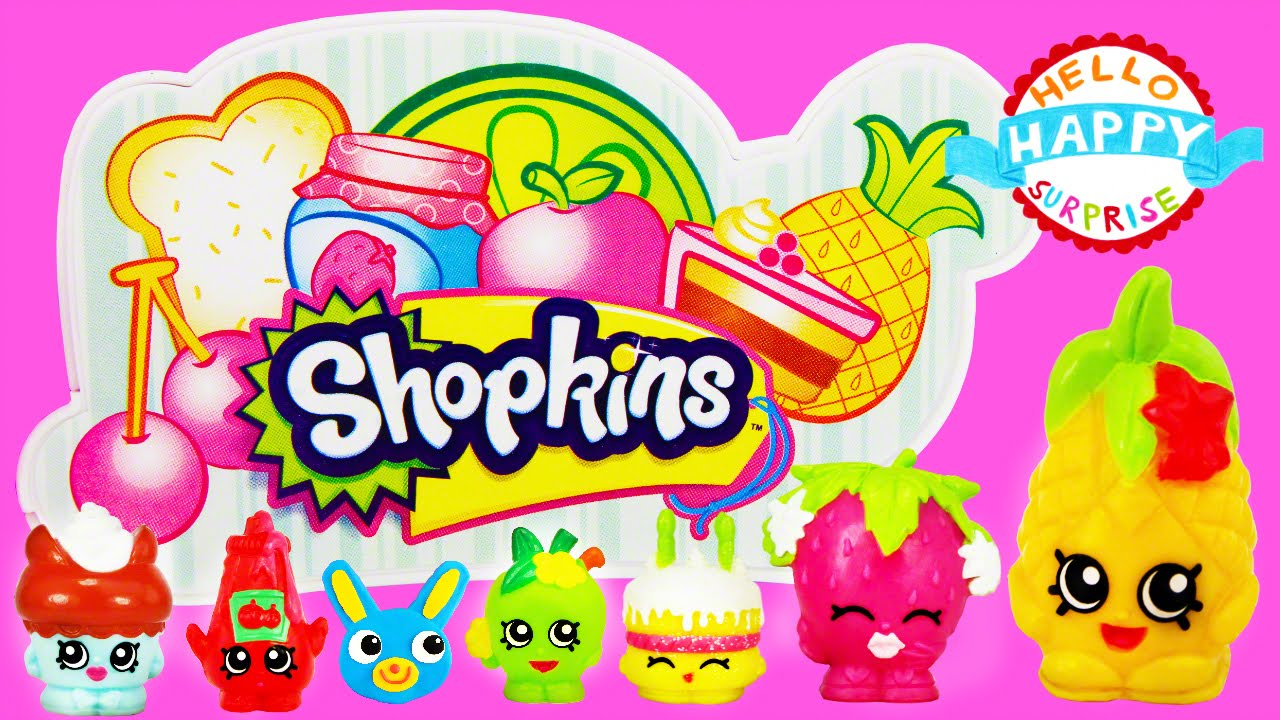 Shopkins logo clipart free clip freeuse library Shopkins Supermarket Playset Toy Unboxing Small Mart Series 1 ... clip freeuse library