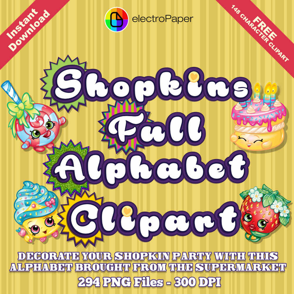 Shopkins logo clipart free vector royalty free 1000+ images about Shopkins Party on Pinterest | Birthdays, Party ... vector royalty free