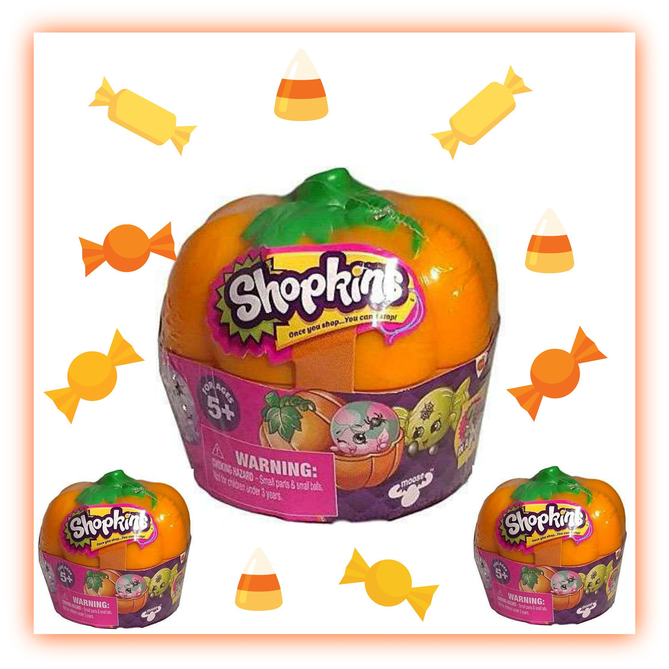 Shopkins pumpkin clipart image free download Shopkins Halloween Pumpkin Blind Basket Mini Figure 2-Packs | Kidd ... image free download