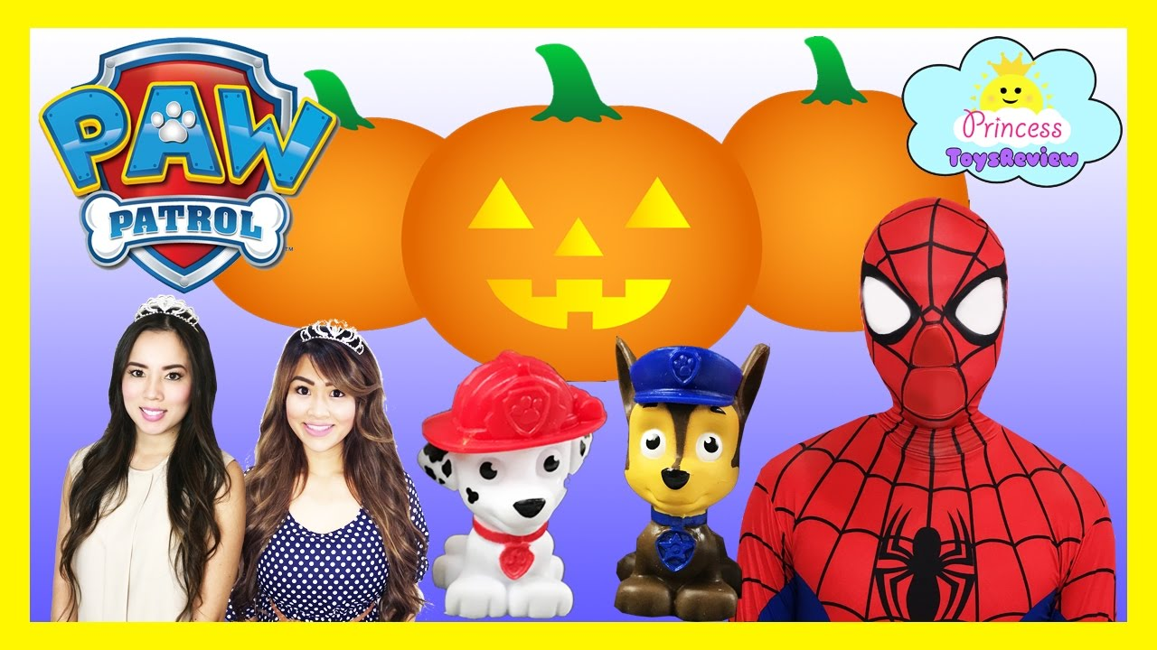 Shopkins pumpkin clipart clipart download PAW PATROL HALLOWEEN PUMPKINS Spiderman & Princess Pumpkin Patch ... clipart download