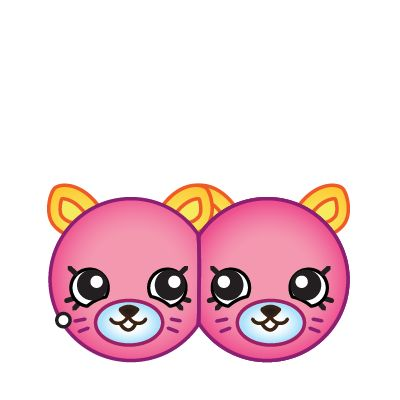Shopkins season 4 clipart clip art library library Shopkins - Season 4 - Earring Twins - Pink | shopkins valentines ... clip art library library