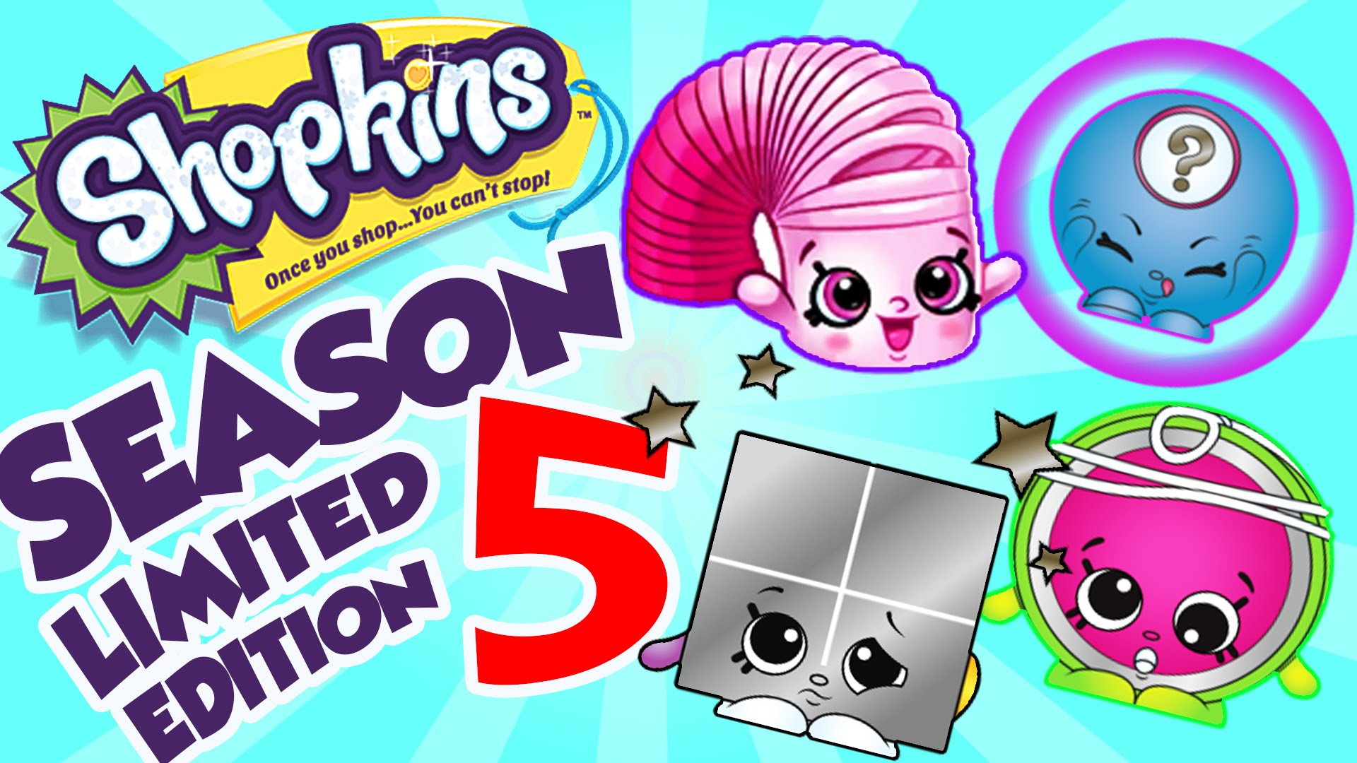 Shopkins season 5 clipart picture library library Shopkins Season 5 All Limited Edition Characters by Cartoon Toy ... picture library library