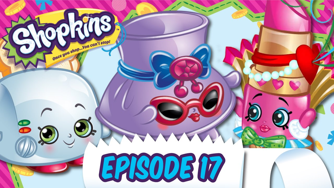 Shopkins shades character clipart clipart stock Shopkins Cartoon - Episode 17,