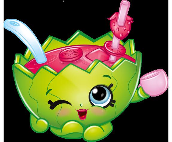 Shopkins watermelon clipart svg transparent stock Mallory Watermelon Punch Shopkins Picture svg transparent stock