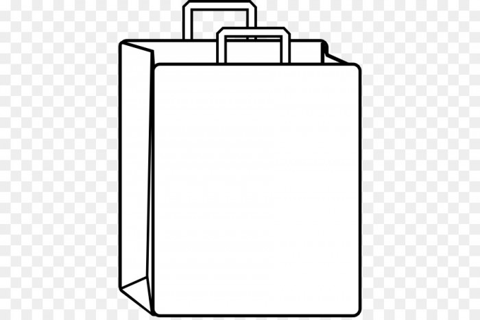 Shopping bag clipart black and white picture free library Shopping Bag Paper Bag Clip Art Paper Bag Clipart Png ... picture free library
