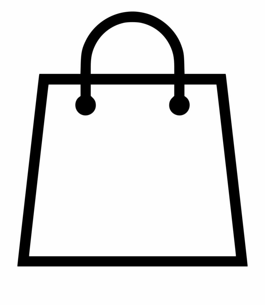 Shopping bag vector clipart vector free library Shopping Bag Vector Svg Png Icon Free Download - Shopping ... vector free library