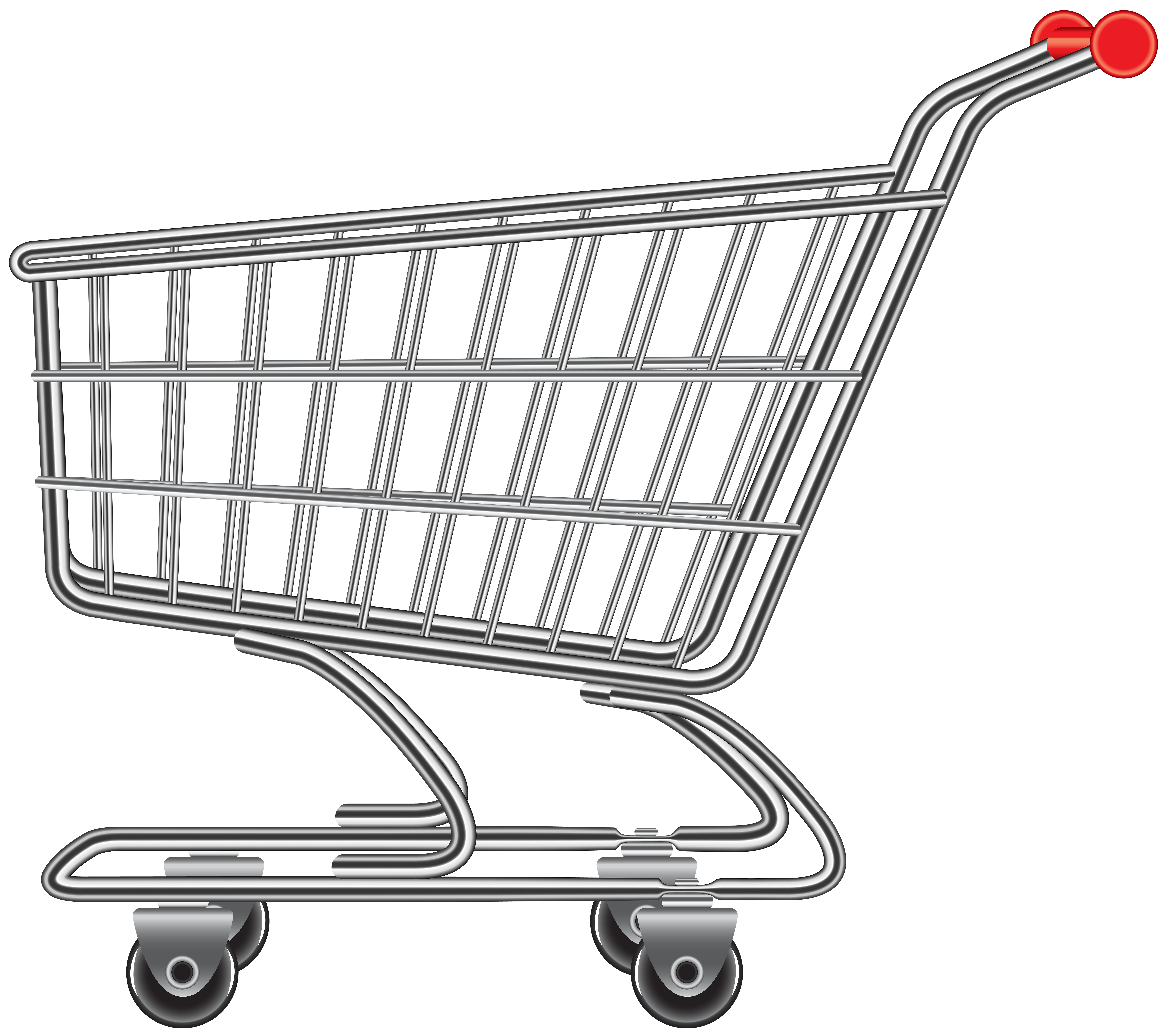 Shopping cart clipart picture free stock Shopping Cart PNG Image | Gallery Yopriceville - High ... picture free stock