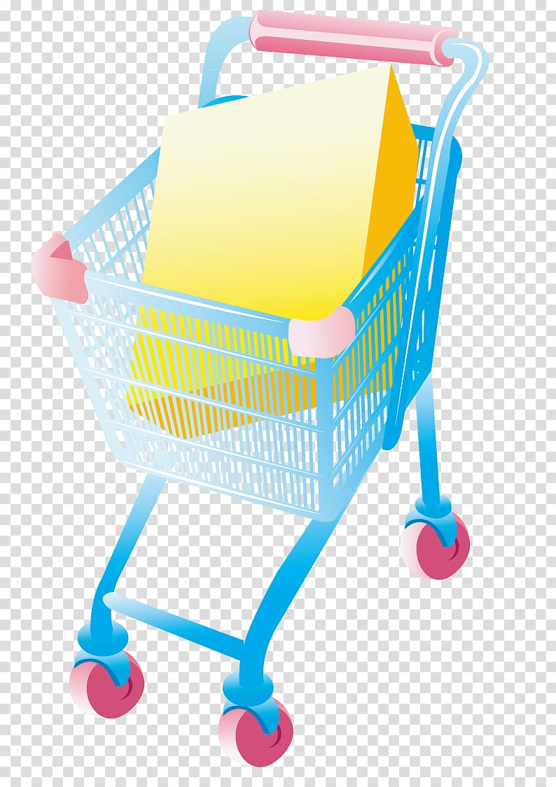 Shopping cart full of water bottles cart clipart svg freeuse download Shopping cart Supermarket Designer, Supermarket Shopping ... svg freeuse download