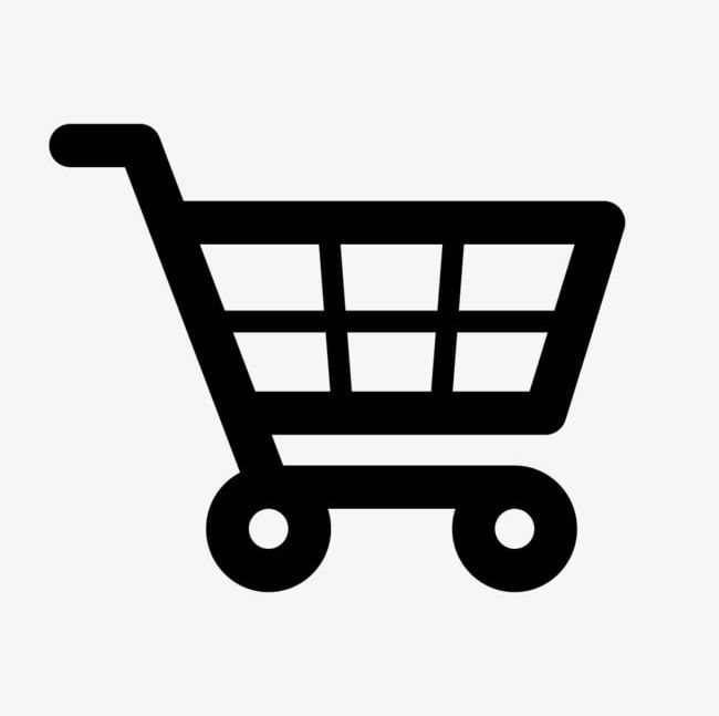 Shopping cart icon clipart png library stock Black Shopping Cart Icon For Free PNG, Clipart, Black, Black ... png library stock