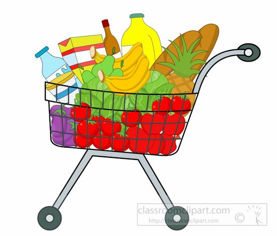 Shopping for food clipart jpg free stock 17 Best images about food clip art on Pinterest | Picnics, Clip ... jpg free stock