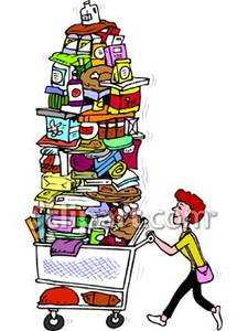 Shopping for food clipart png transparent stock Shopping for food clipart - ClipartFest png transparent stock