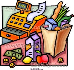 Shopping for food clipart picture transparent download Shopping for food clipart - ClipartFest picture transparent download