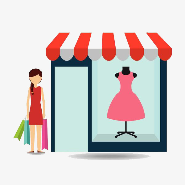 Shopping graphics clipart vector free download Shopping, Clothing, Red, Product, Design, Line, Illustration ... vector free download