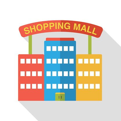 Shopping mall clipart image transparent library Shopping Mall Flat Icon premium clipart - ClipartLogo.com image transparent library