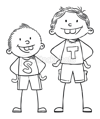 Short and tall clipart banner transparent stock Short And Tall Clipart - Clipart Kid banner transparent stock