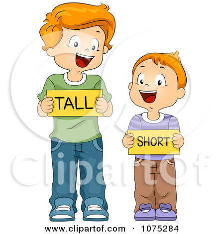 Short and tall clipart png library library Clipart tall short - ClipartFest png library library