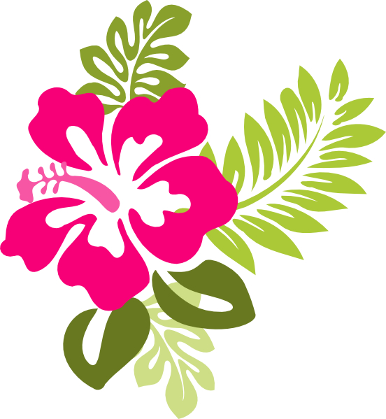 Short flower clipart free stock Hibiscus Flower Clipart - Clip Art Library free stock