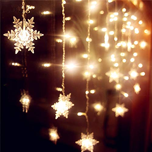 Short girls hanging christmas lights image clipart banner transparent download Snowflake Lights: Amazon.com banner transparent download