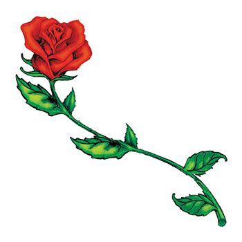 Short stem rose clipart clipart transparent stock Long Stem Rose Tattoos Clipart | Free download best Long ... clipart transparent stock