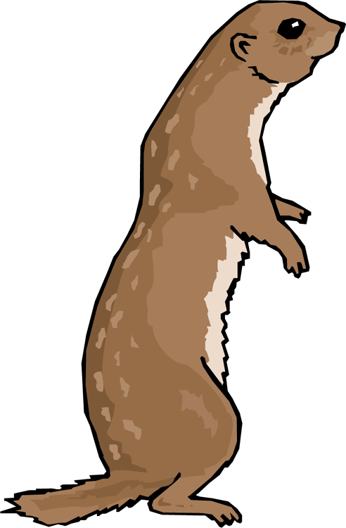 Prairie dog clipart clip freeuse download Short tail dog clipart free - ClipartFest clip freeuse download