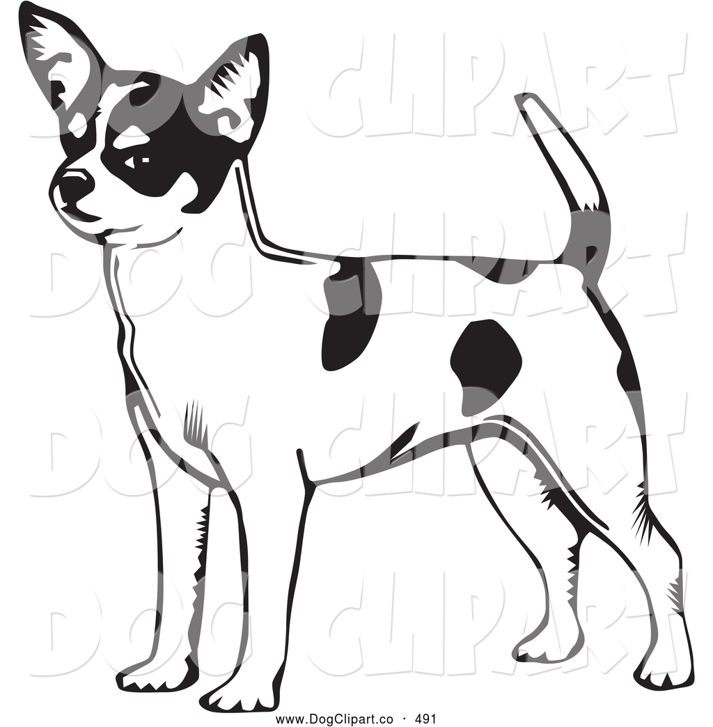 Short tail dog clipart free image freeuse library Vector Clip Art of a Cute and Alert Short Haired Chihuahua Dog ... image freeuse library